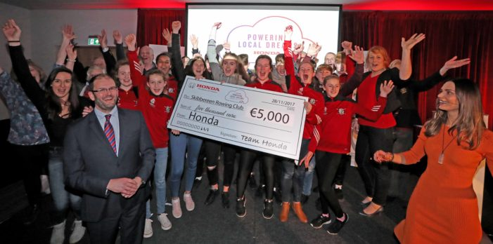 SPORT: Skibbereen Rowing Club receives €5,000 from Honda 'Powering Dreams' campaign