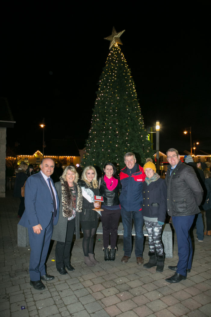 Ballincollig Christmas Lights switched on