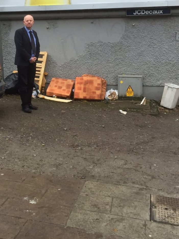 Illegal Dumping in Cork's Inner City