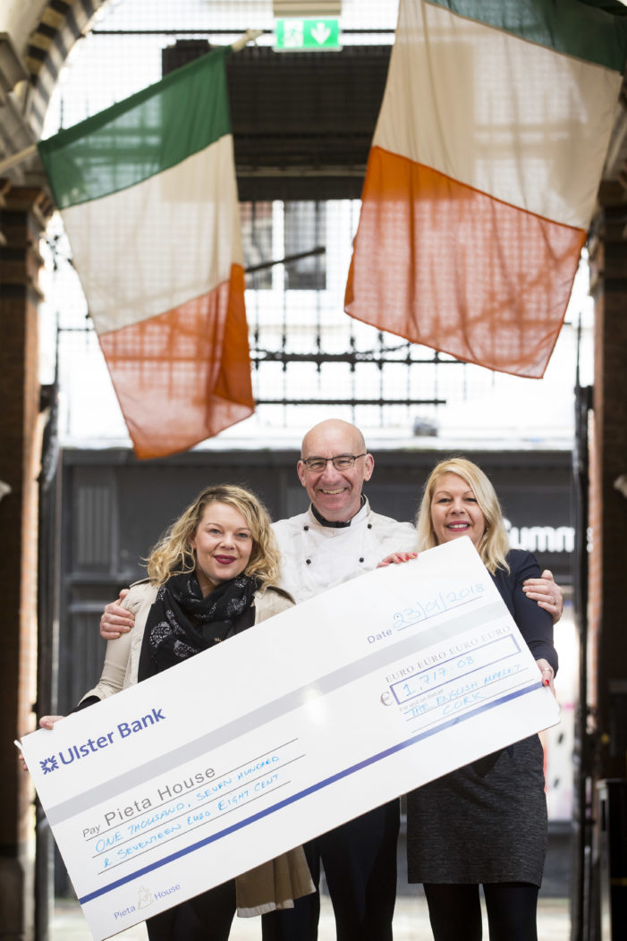 English Market raised €1,700 over Christmas for Pieta House Charity