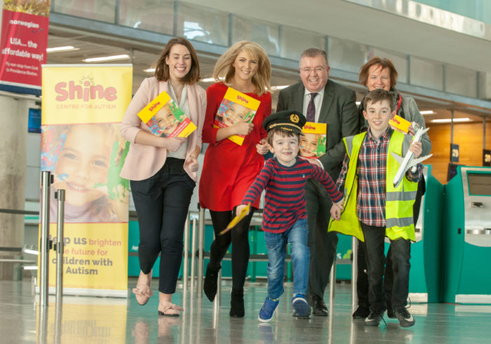Shine Centre for Autism announced as Cork Airport Charity of the Year 2018