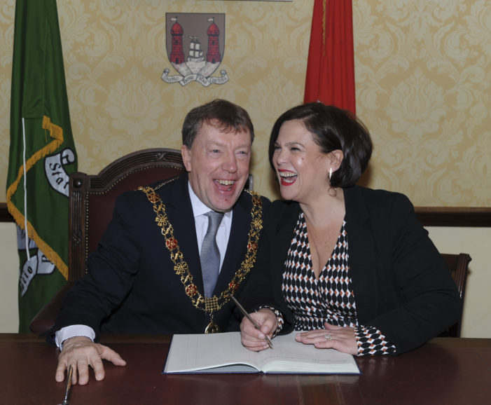 POLITICS: Mary Lou McDonald TD makes first visit to Cork as Sinn Fein President