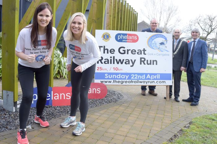 RUN FROM CORK TO CARRIGALINE: 'Great Railway Run'