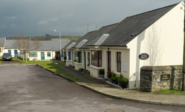 WEST CORK: New Council houses at Ceim Hill, Rosscarbery