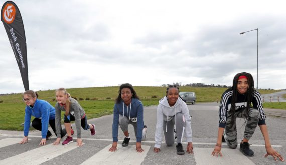 Teenagers of Ireland put down their phones to participate in the Irish Examiner Cork City Marathon Youth Challenge Fun 5k