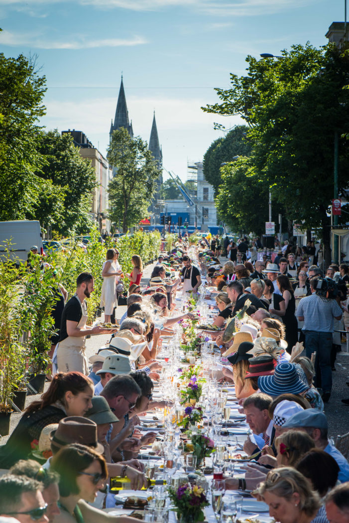 ENTERTAINMENT: Cork's Long Table Dinner event 2018