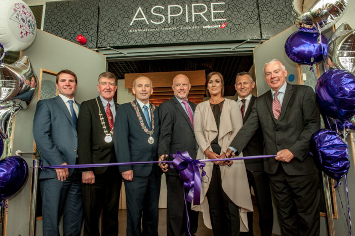 Swissport opens Aspire Business Lounge at Cork Airport