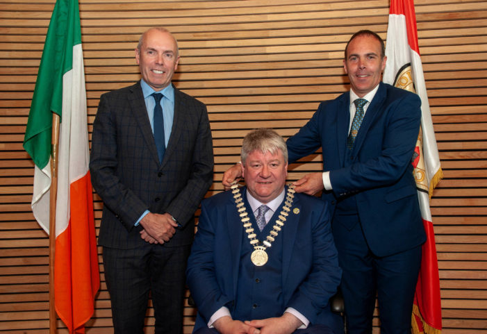 New Mayor of County Cork – Patrick Gerard Murphy