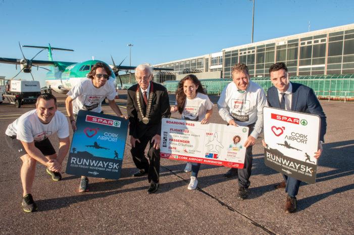 KEEP ACTIVE: Sonia O'Sullivan to attend Cork Airport SPAR 5K Runway Run in November