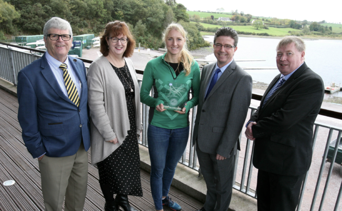 Sanita Puspure, World Champion Rower Honoured with Cork Person of the Month Award