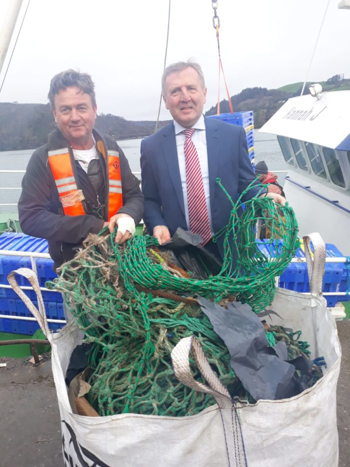 GOAL: 100% of Irish trawlers to recover plastic waste from the oceans on every fishing trip