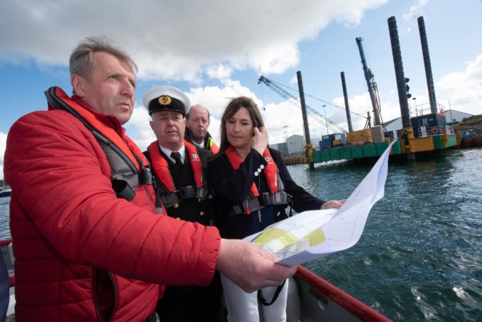 IRELAND FISHING NEWS: New Harbour Admin Building and doubling of quay space in Castletownbere