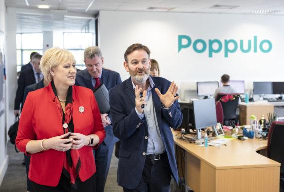 Cork software company 'Poppulo' creates 125 jobs