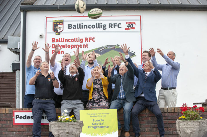 SPORT: Ballincollig RFC Commences Development Plan