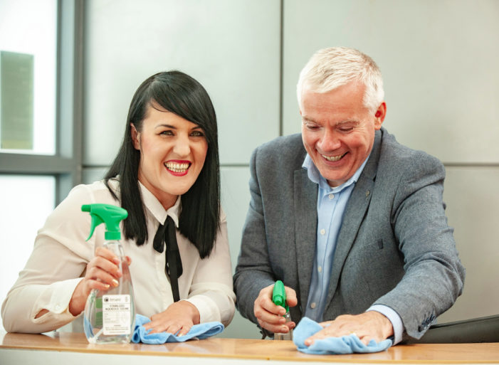 "Cork Airport now uses ""toxin-free organic cleaning solution"" called Tersano Lotus Pro"