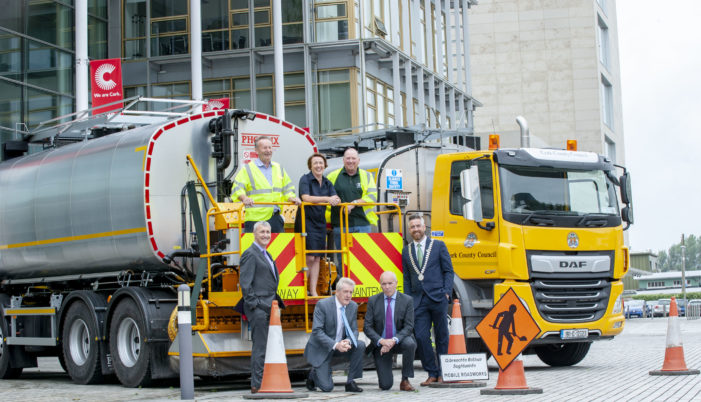 New Road Tar Sprayers for County Council Fleet