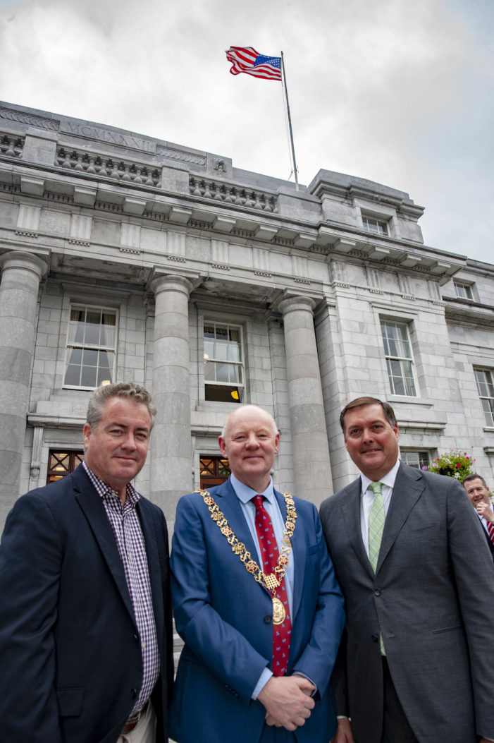 California State Legislative Irish Caucus visits Cork City Hall