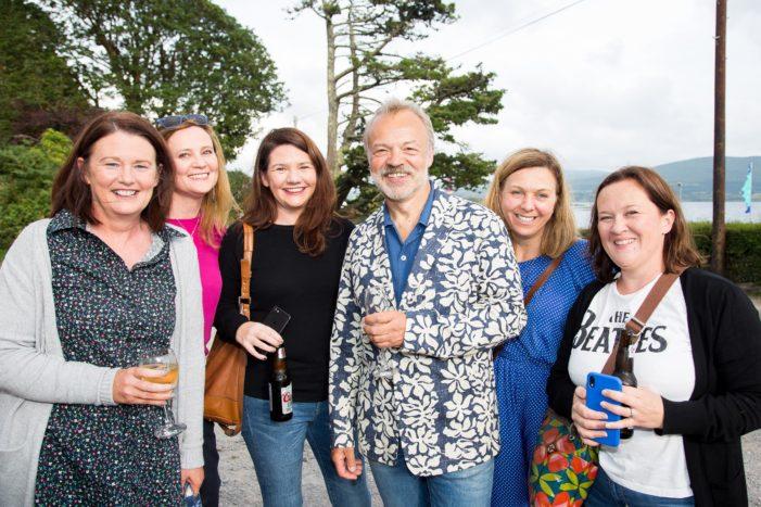 PHOTOS: Graham Norton visits Festival – Ahakista, West Cork