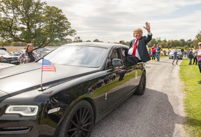 'Donald Trump' visits East Cork, Ireland