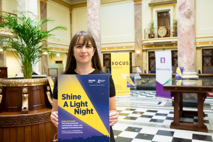 Cork Business people sleep outdoors to highlight homelessness
