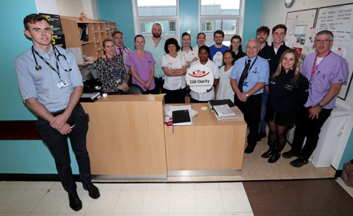 UCC's Medical Society gear up to launch UCC Med Day 2020 to coincide with World Stroke Day