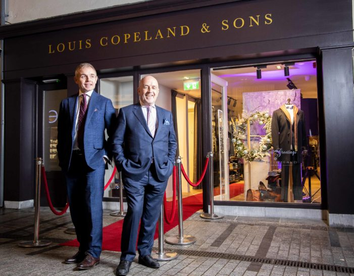 Louis Copeland Suits finally opens in Cork (Academy Street)