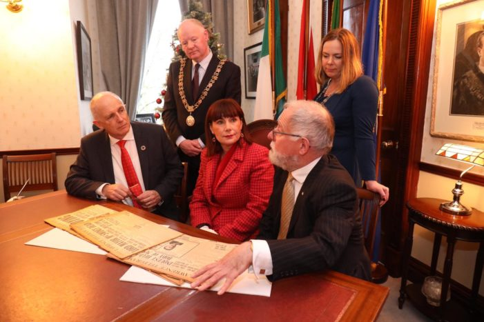 Cork City to be focus of 1920 centenary events