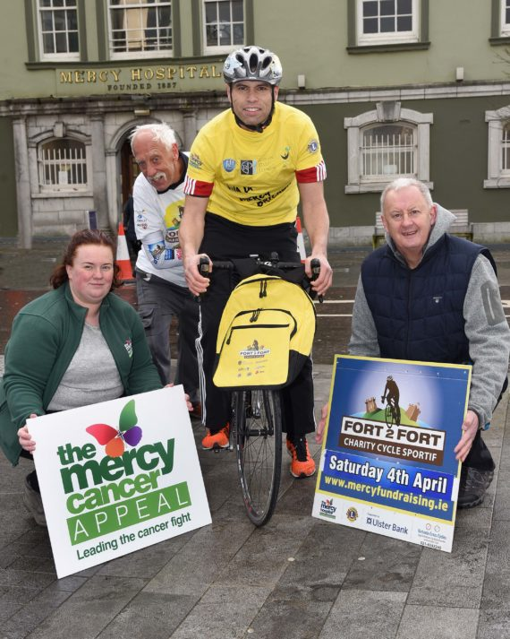 'Fort 2 Fort Charity Cycle Sportive 2020' scheduled for Saturday, April 4th