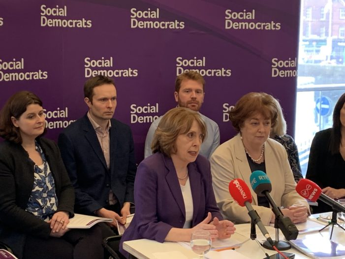CORK NORTH CENTRAL: Social Democrat candidate Sinéad Halpin welcomes launch of election manifesto