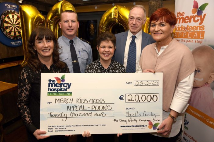 Danny Crowley Memorial Swim hits €100,000 Target