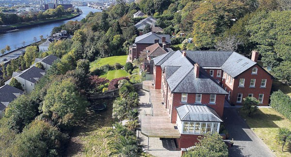 PROPERTY: €1.25m red-brick mansion in Tivoli with views of Marina