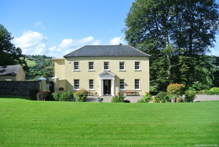 BALLINCOLLIG: €1.6 million Georgian 'Carrigrohane Lodge' comes with fishing rights on River Lee