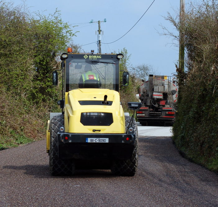 County Council tackles potholes with €2.1 million contract