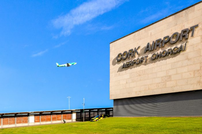 Cork Airport Passenger Numbers Decline by 95% Due To COVID-19