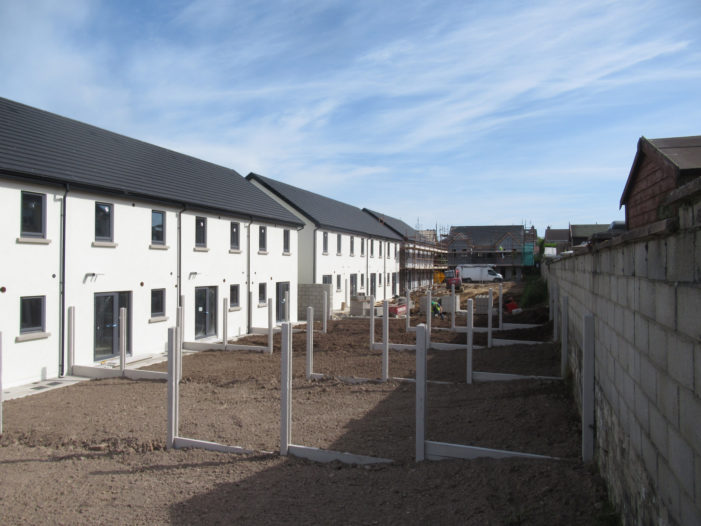 Social housing construction resumes after COVID19