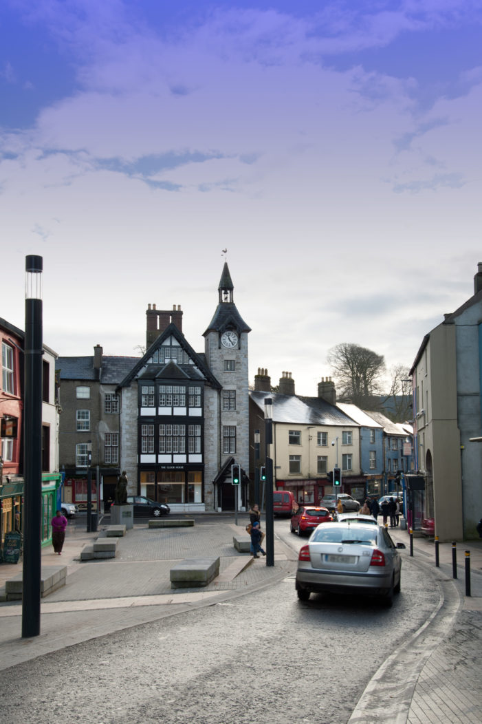 Cork towns benefit with almost €1 million of active travel and public realm works