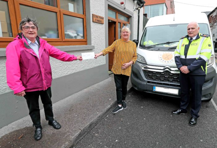 Community Champions donation to Cork Food Charities