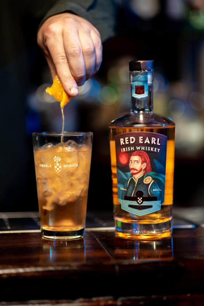 Kinsale Spirit Company launch 'Red Earl Whiskey' as part of their 'Battle of Kinsale' series