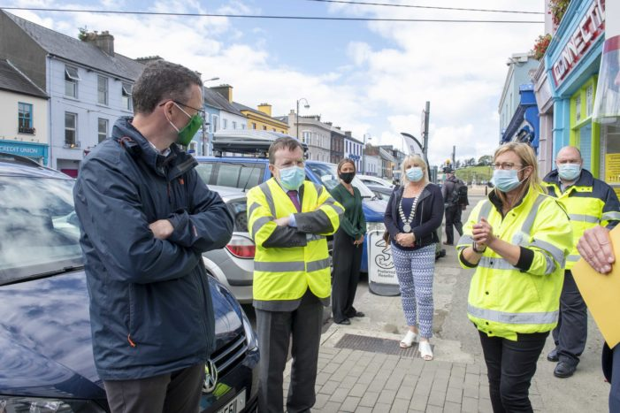 OPW 'Flood Minister' Patrick O'Donovan visits Bantry and Bandon