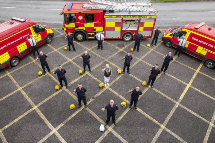 New Fire Brigade Appliances for Cork County Council's Fire Service