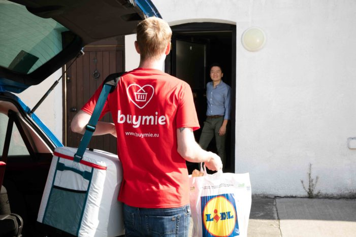 Lidl now offering home delivery in Cork (using the Buymie service)