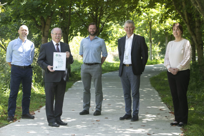 MALLOW CASTLE: Council wins award for forest in grounds