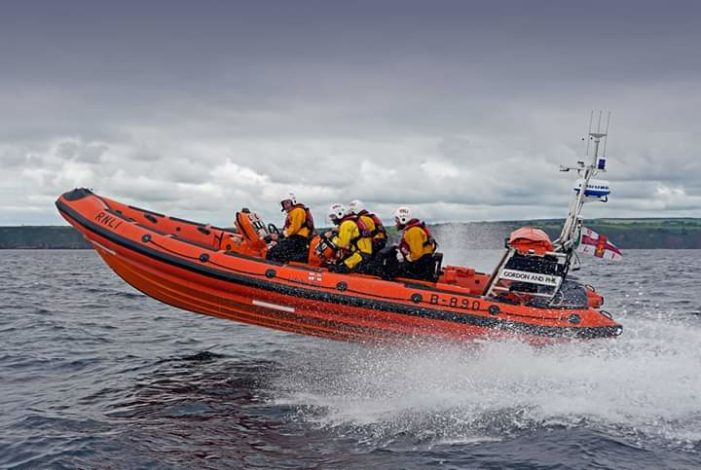 EAST CORK: Youghal RNLI involved in multi-agency rescue of a person cut off by the tide.