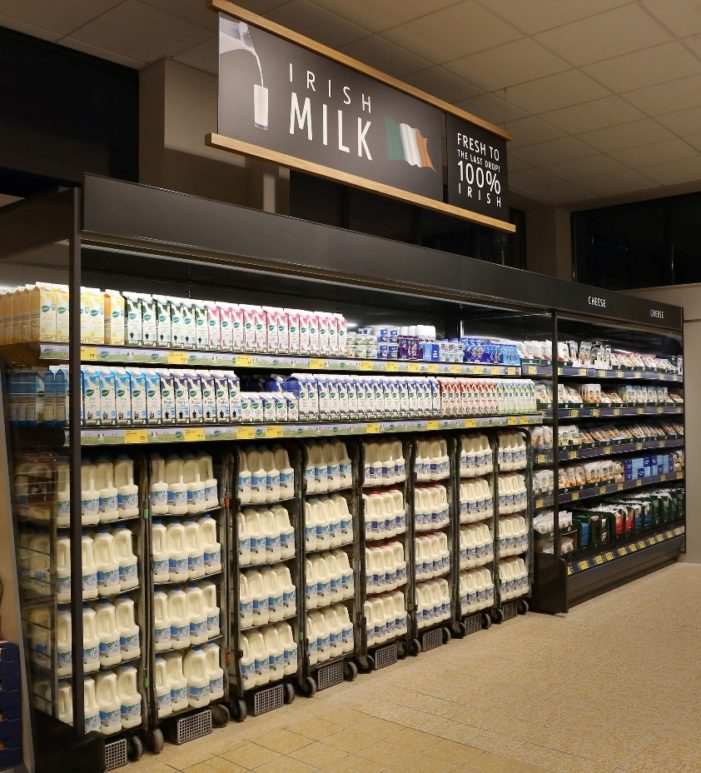 "Aldi unveils its revamped Glanmire #Cork ""Project Fresh"" store"