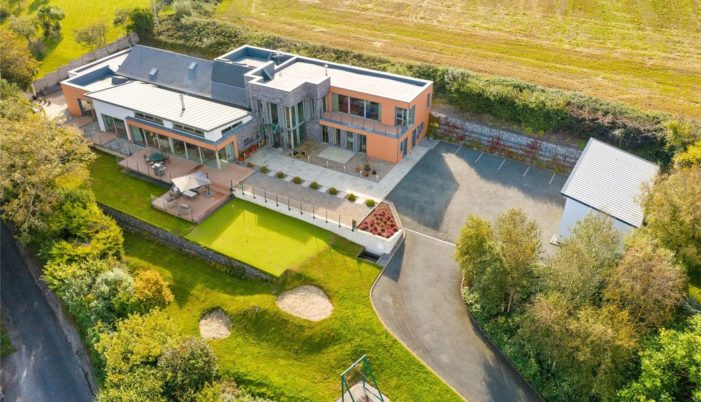 "PROPERTY FOR SALE: €1.75 million modern mansion with pool and zip line – ""Ngong"", Kilnagleary, Carrigaline, Co Cork"